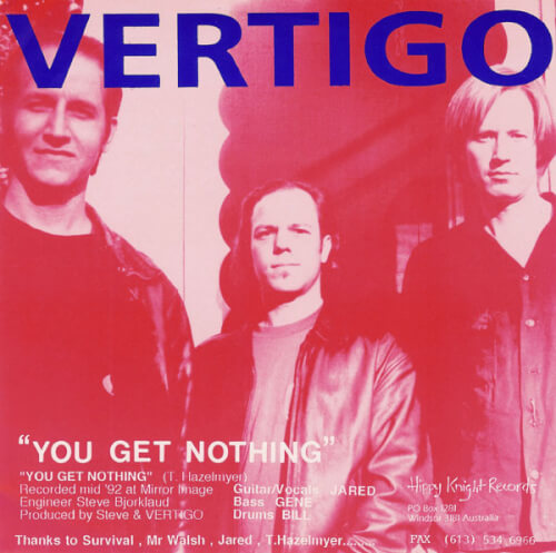 Vertigo-Amphetamine Reptile Band