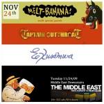 Melt-Banana-Exuswama-Captain-Cutthroat-Poster