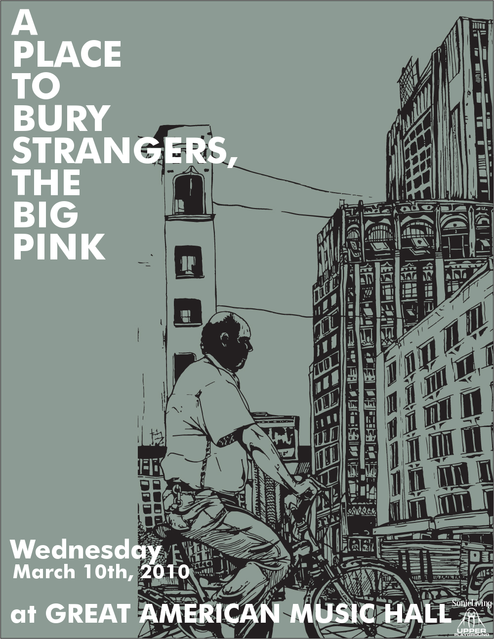 A Place To Bury Strangers / The Big Pink 2010 North American Tour