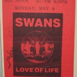 Swans Tour Poster