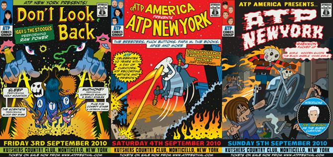 Events – ATP New York 2010 – Line-Up / Info
