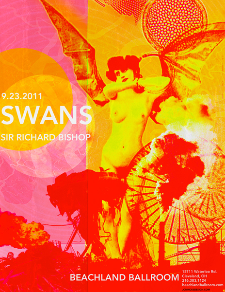 Show Review – Sir Richard Bishop + Wovenhand + Swans at Royale Boston (09.29,11)