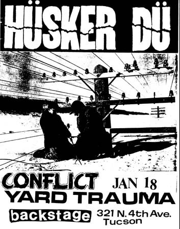 Husker-Du-Conflict-Yard-Trauma-1983-Poster