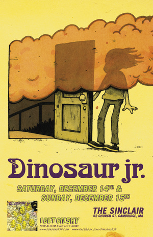 Dinosaur Jr – I Bet On Sky Album Cover