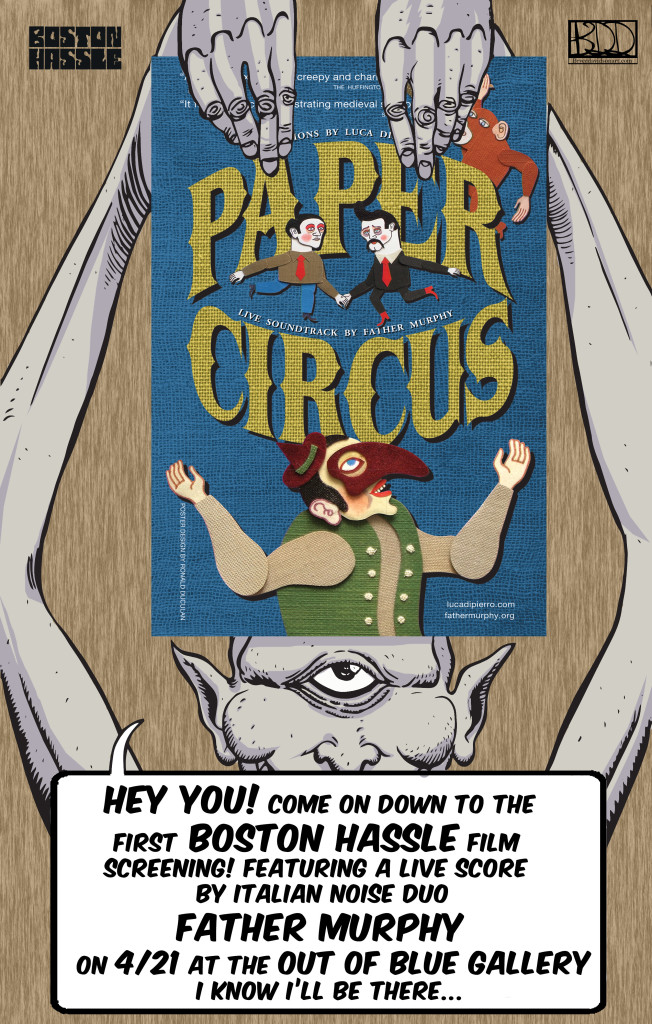 Boston Events – Paper Circus Screening + Black Market