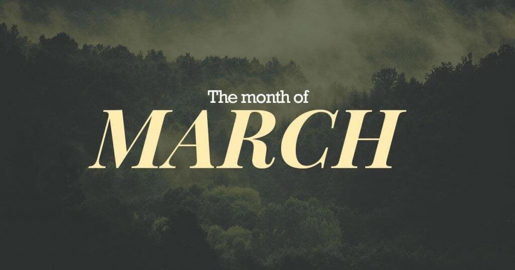 Recap: March 2018 (Pt. 1)