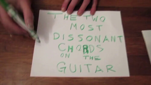 Watch: The Two Most Dissonant Chords on the Guitar – I Heart Noise