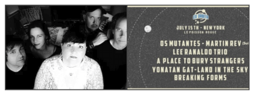 Collage – Pylon Reenactment Society – En Orbita Festival