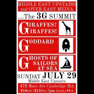 Giraffes-Giraffes-Godard-Ghosts of Sailors at Sea