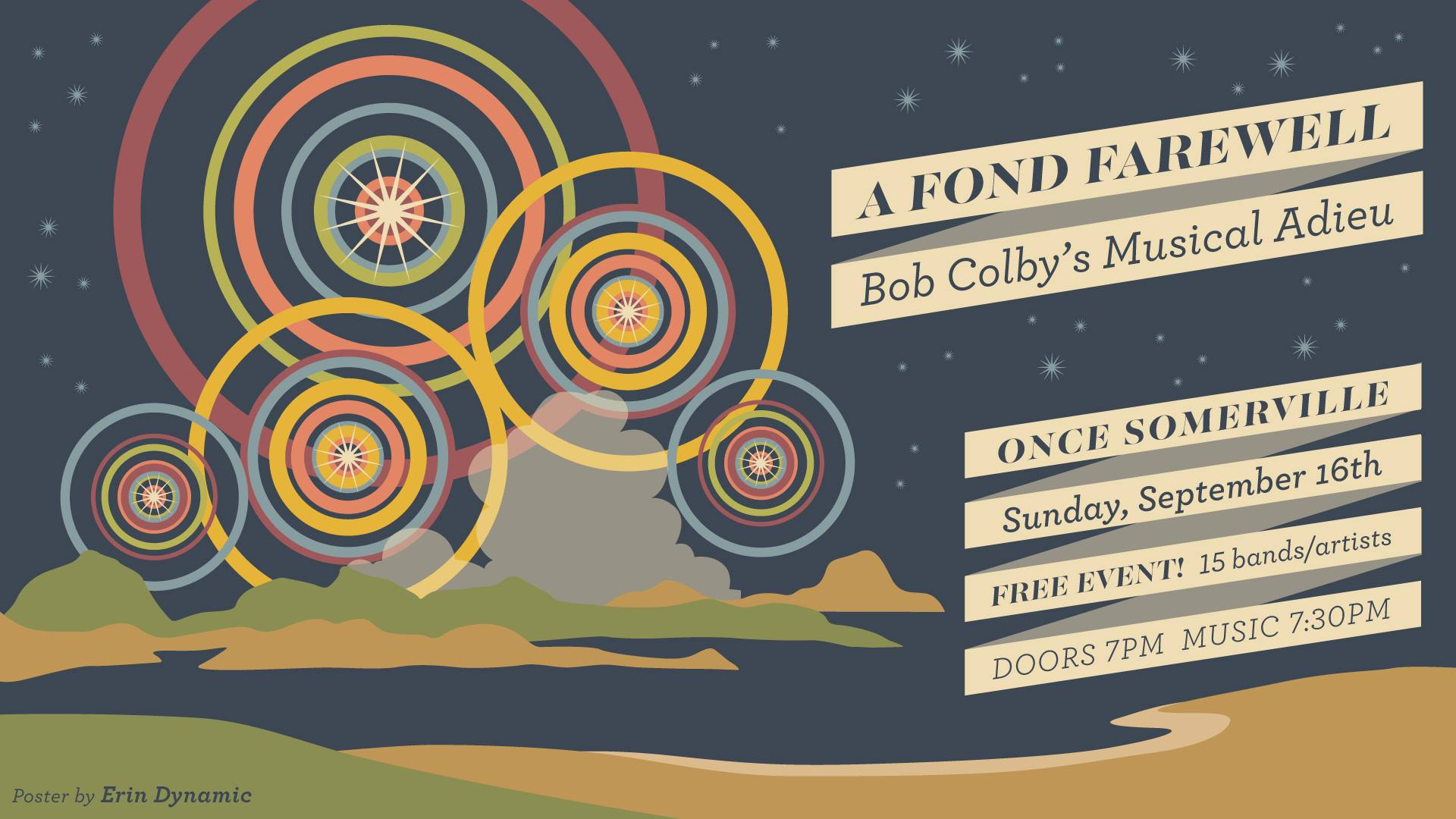 Watch / Listen – Bob Colby's Musical Adieu