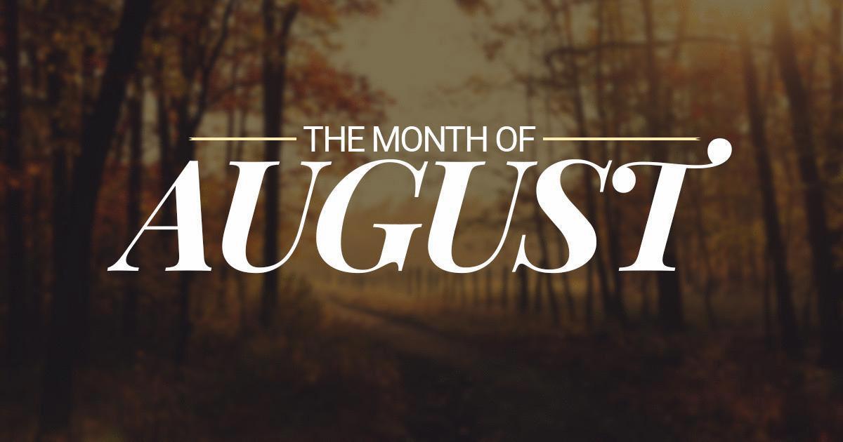 Blog Summary – August 2019: Pt. 1