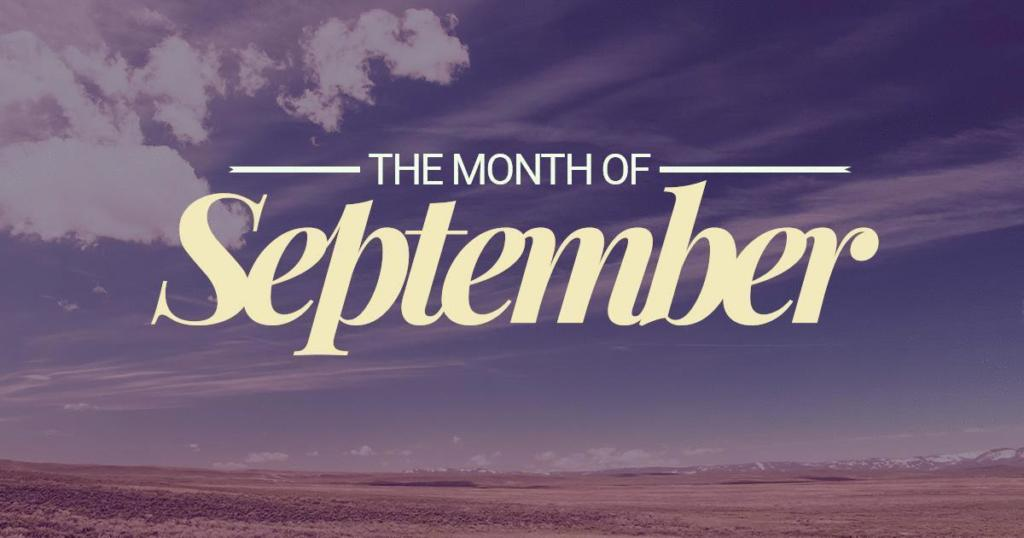 The Month of September