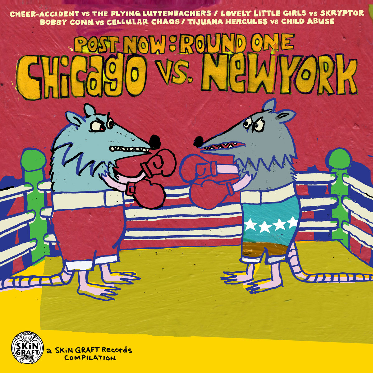 Post Now - Round One - Chicago Vs. New York
