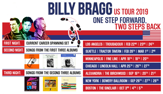 Milkman of Human Kindness: Billy Bragg at the Sinclair