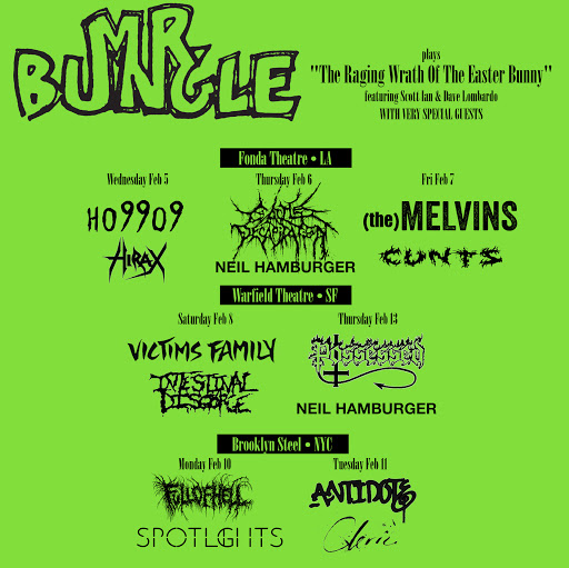 Mr. Bungle 2020 Tour Poster