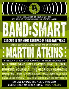 Martin Atkins Band Smart Book Cover