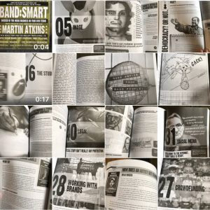 Martin Atkins Band Smart Book Pages